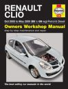 Haynes Workshop Manual Renault Clio Petrol & Diesel (Oct 05-May 09) 55 to 09
